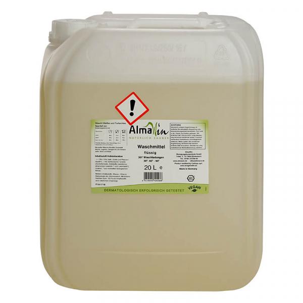 Detergent bio lichid pentru rufe | AlmaWin, 306 spalari, 20 litri 0