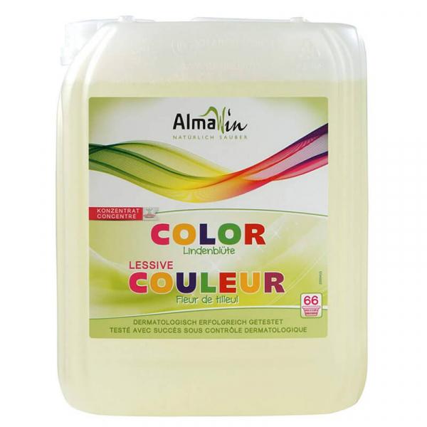 Detergent bio lichid pentru rufe, COLOR, AlmaWin, 5 litri 0