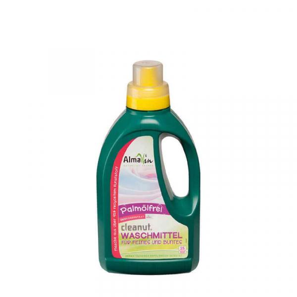 Detergent bio lichid pentru rufe, cu nuci de sapun, AlmaWin, 750 ml 0
