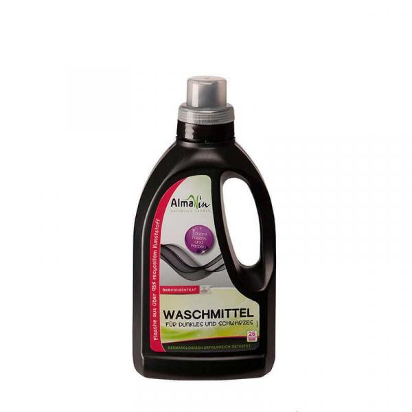 Detergent bio lichid pentru rufe inchise la culoare | AlmaWin, 750 ml 0
