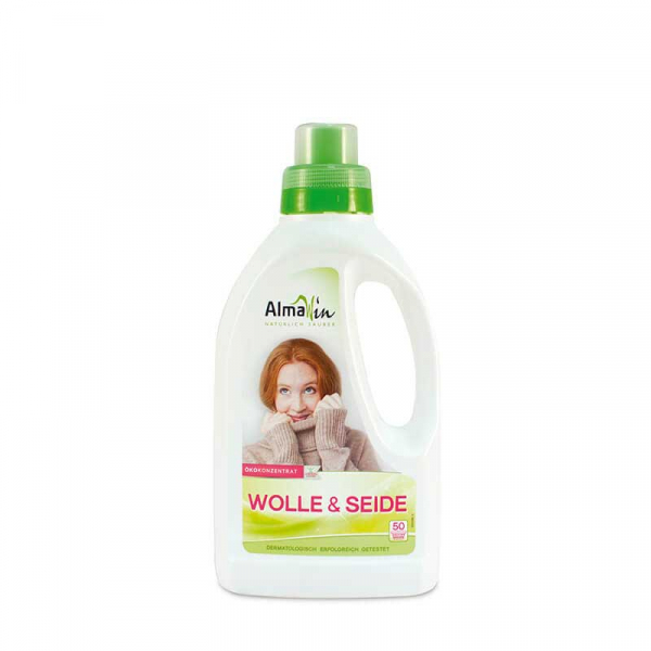 Detergent bio pentru lana si tesaturi delicate, AlmaWin, 750 ml 0
