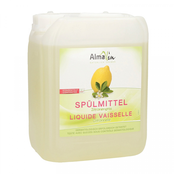 Detergent bio pentru vase Citrice, AlmaWin, 5l [0]