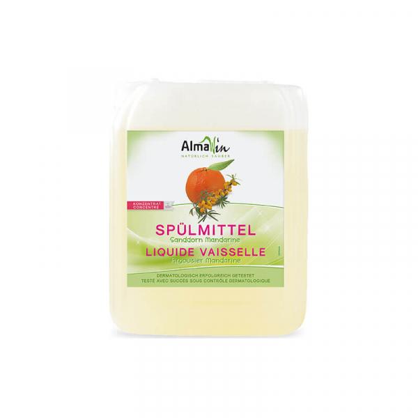 Detergent bio pentru vase, Mandarine si Catina alba, AlmaWin, 5l 0
