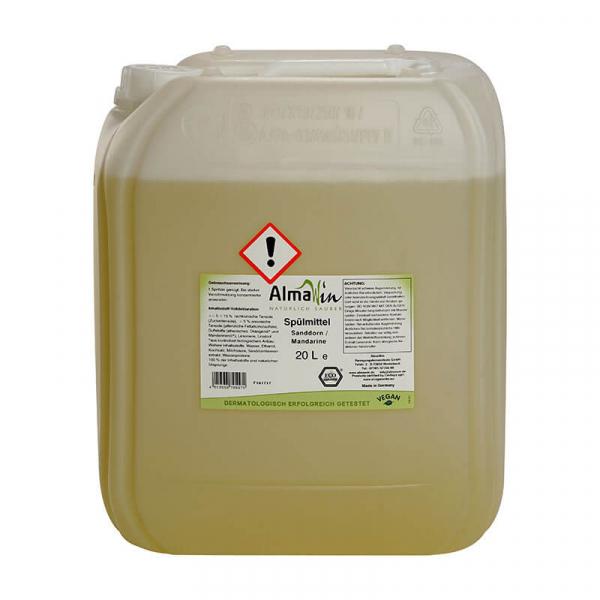 Detergent bio pentru vase, Mandarine si Catina alba, AlmaWin, 20l 0