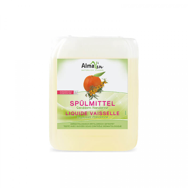 Detergent bio pentru vase, Mandarine si Catina alba, AlmaWin 2