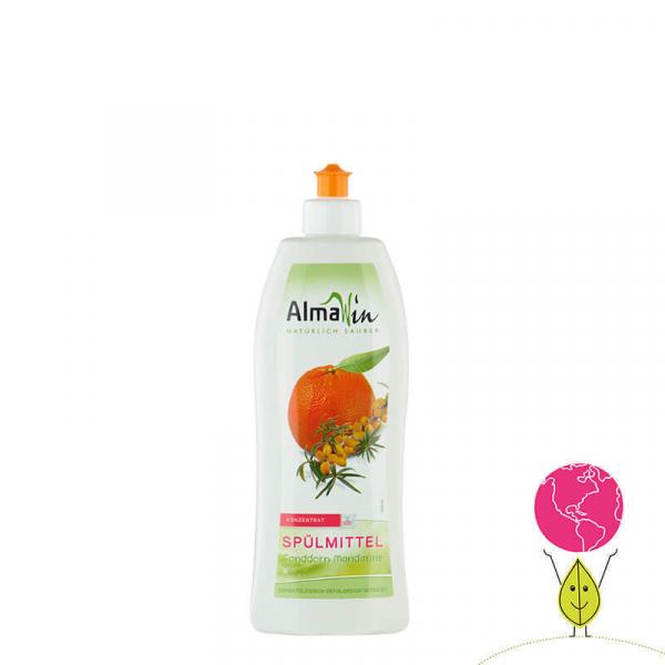 Detergent bio pentru vase, Mandarine si Catina alba, AlmaWin 1