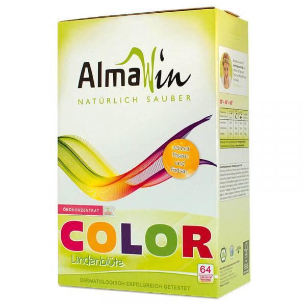 Detergent bio pudra pentru rufe, Color | AlmaWin, 2 kg 0