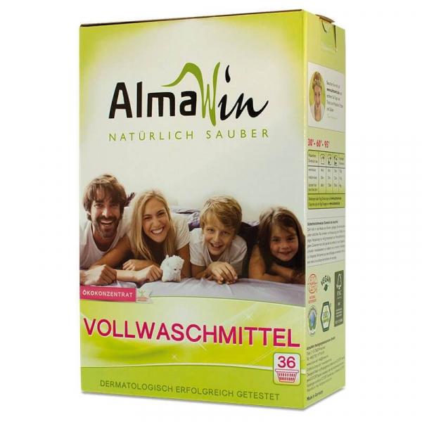 Detergent bio pudra pentru rufe, Heavy Duty, AlmaWin, 2 kg 0