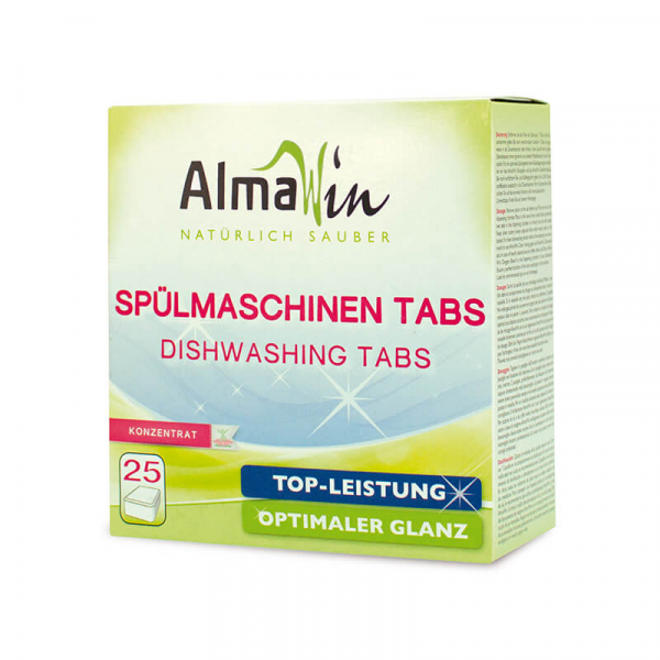 Detergent bio tablete pentru masina de spalat vase, AlmaWin, 500ml 0