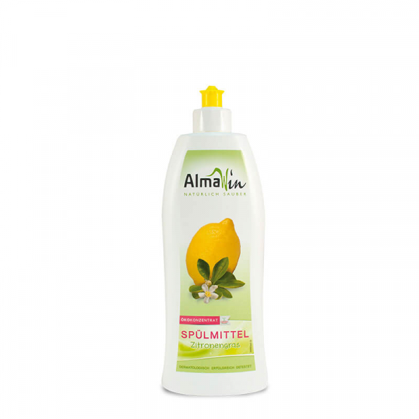 Detergent bio pentru vase Citrice, AlmaWin, 500ml 0