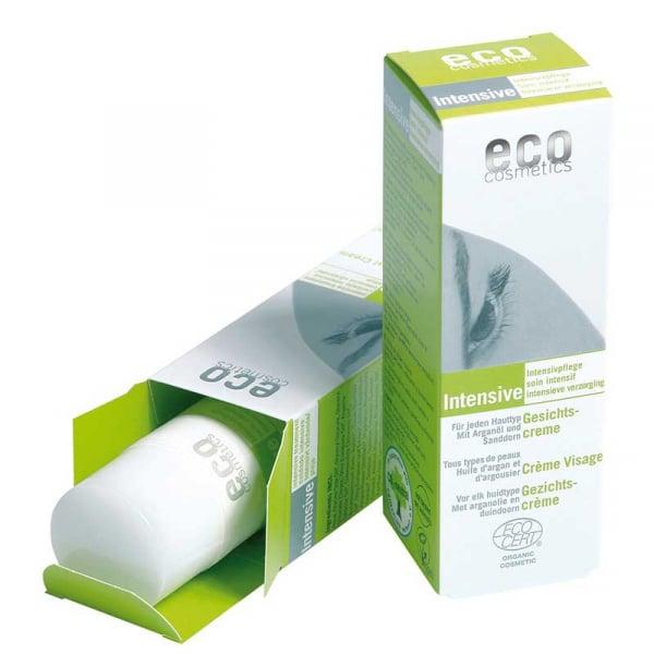 Crema restructuranta bio cu ulei de argan si catina | Eco Cosmetics, 50ml [0]
