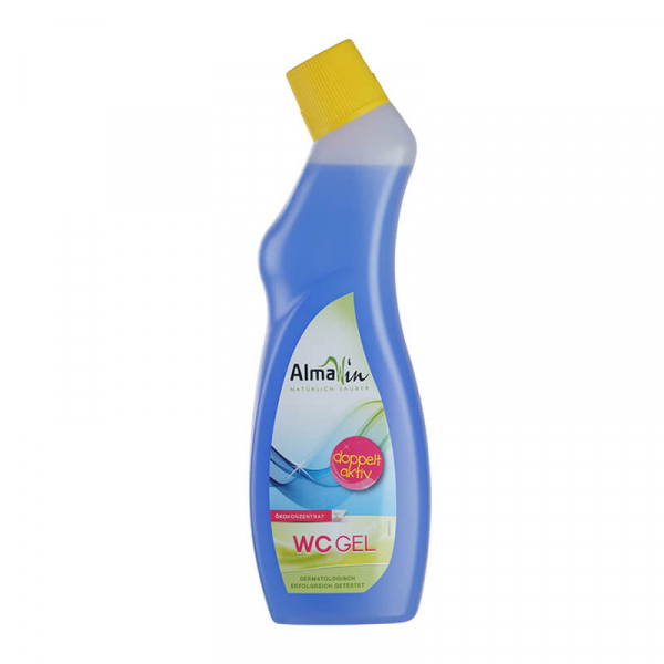 Gel bio Double Action pentru vasul de toaleta, AlmaWin, 750ml 0