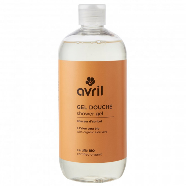 Gel de dus bio Caise si Migdale, Avril, 500ml