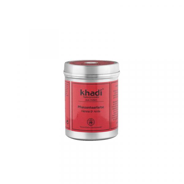 Vopsea de par naturala Rosu intens | Khadi 0