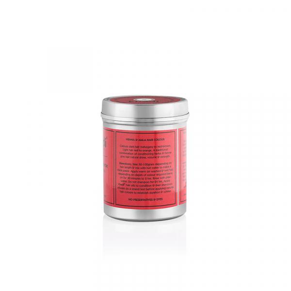 Vopsea de par naturala Rosu intens | Khadi 1