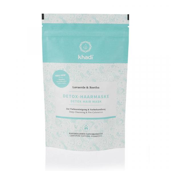 Mască naturală DETOX pentru păr, Khadi, 150g 0