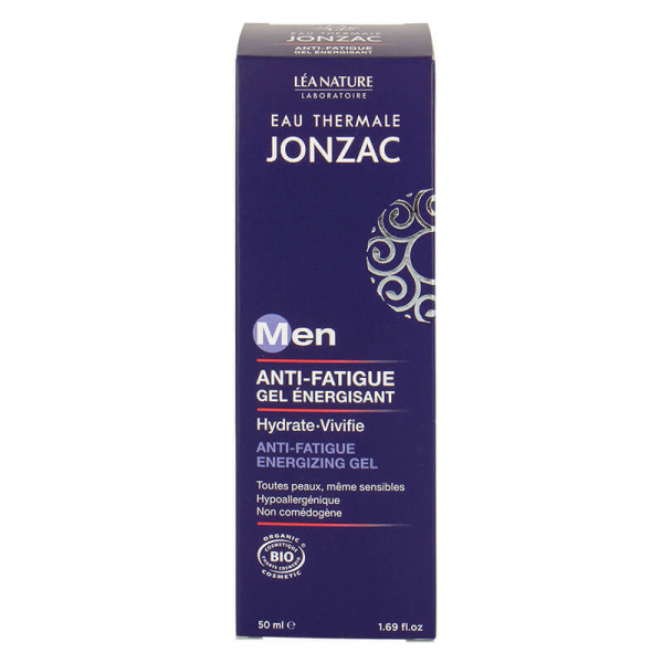 Men - Gel energizant anti oboseala, Jonzac, 50ml 0