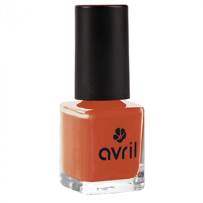 Ojă vegană 7 free Tangerine nr. 864 | Avril, 7ml 0