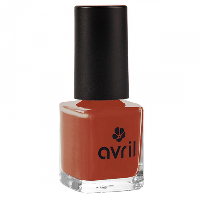 Ojă vegană 7 free Rouge Brique nr. 1085 | Avril, 7ml 0