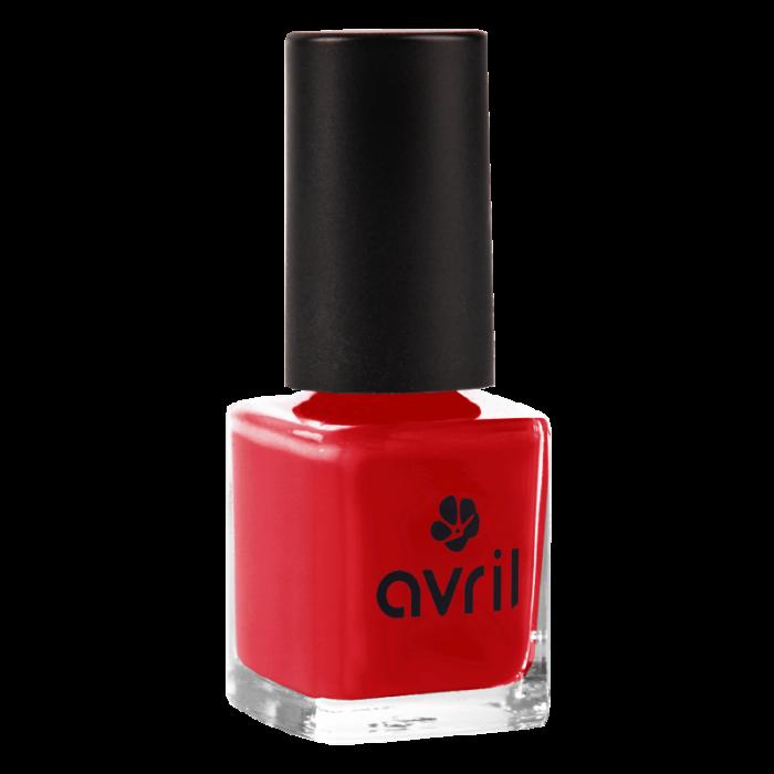 Ojă vegană 7 free Rouge Passion | Avril, 7 ml 0