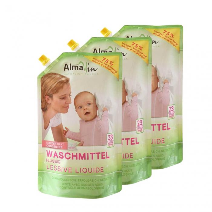 Pachet economic 3 x Detergent lichid, Ecopack, AlmaWin 0