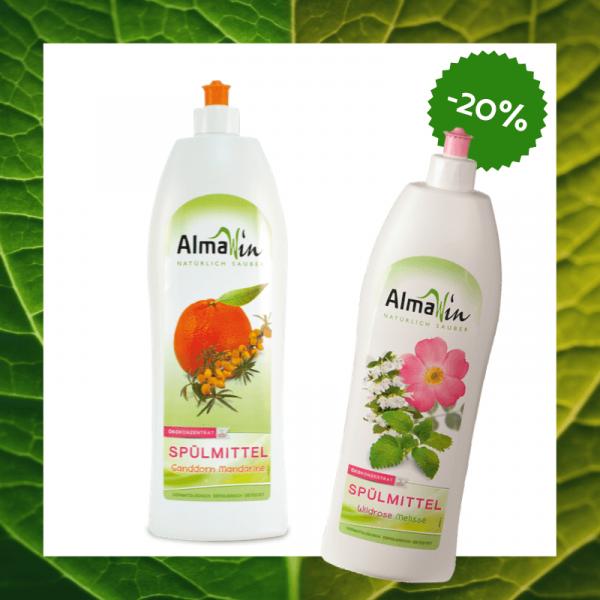 Pachet economic Detergent concentrat pentru vase, AlmaWin - 2 buc 0