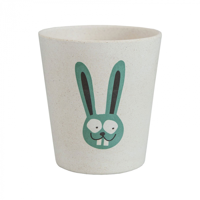 Pahar din bambus pentru clătire sau depozitare | Bunny, Jack N' Jill 0