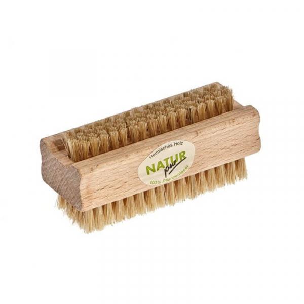 Perie naturala pentru curatarea unghiilor, peri moi, Redecker 0