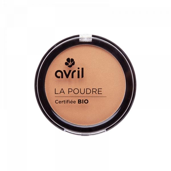 Pudra bronzanta certificata bio, Caramel Doré, Avril 0