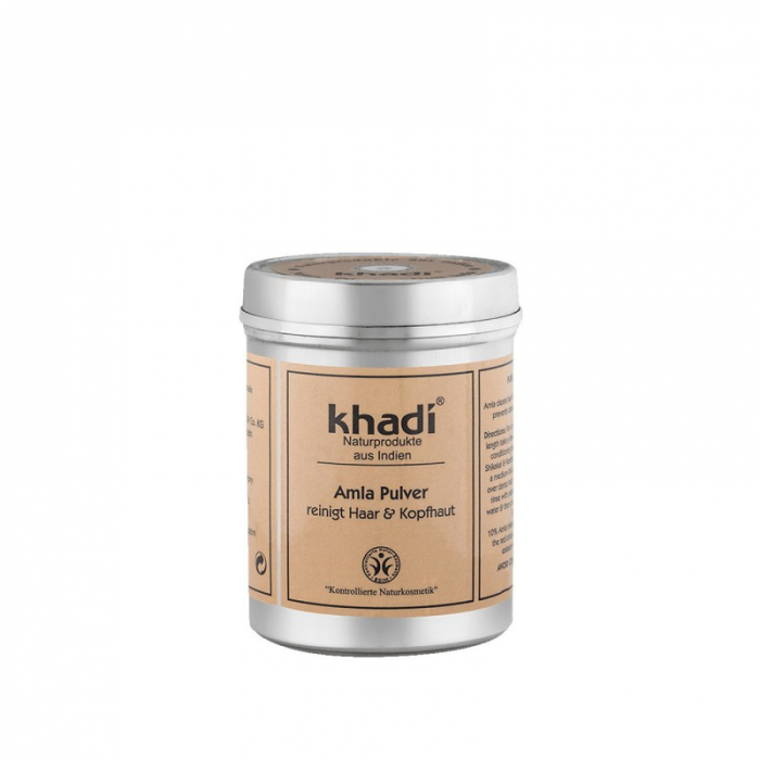 Pudră de amla naturală pentru păr și ten | Khadi, 150g [0]
