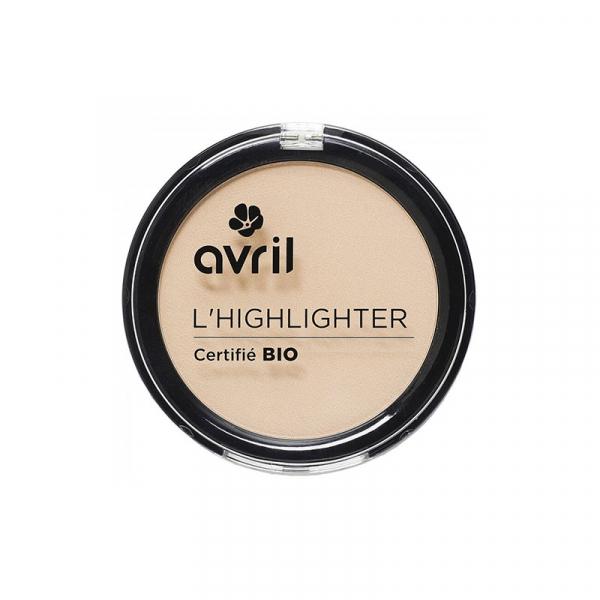 Pudra iluminatoare, certificata bio, Avril 0