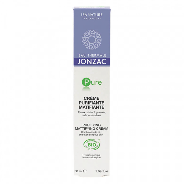Pure - Crema purifianta matifianta, Jonzac, 50ml 0