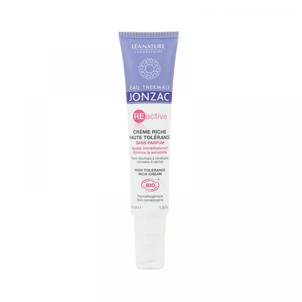Reactive - Crema ten sensibil normal-uscat, Jonzac, 40ml 0