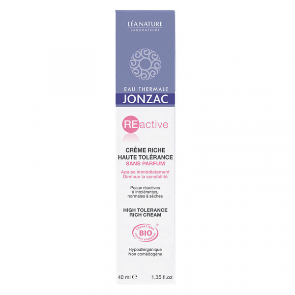 Reactive - Crema ten sensibil normal-uscat, Jonzac, 40ml 1