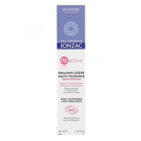 Reactive - Emulsie ten sensibil normal-mixt, Jonzac, 40ml 1