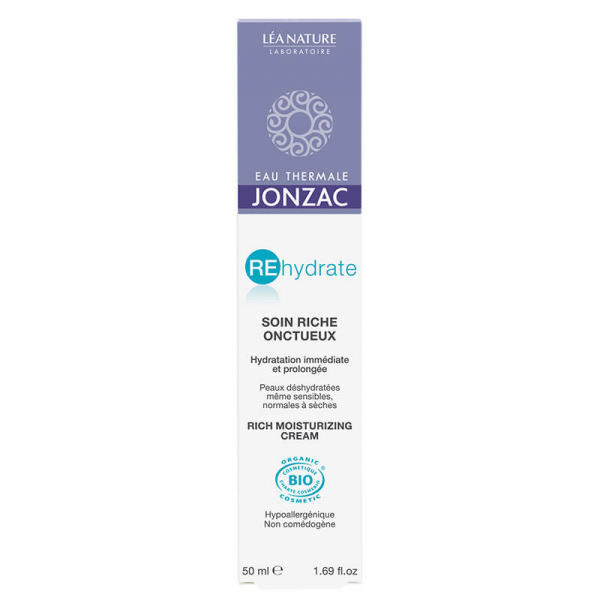 Rehydrate - Crema hidratanta ten normal-uscat, Jonzac, 50ml 0