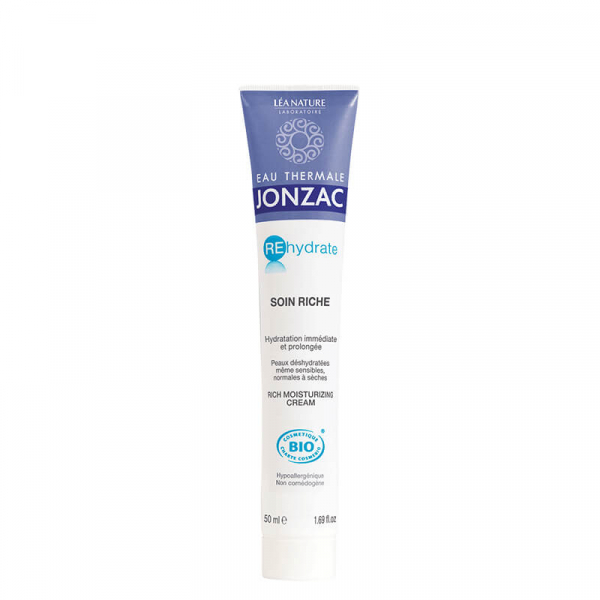 Rehydrate - Crema hidratanta ten normal-uscat, Jonzac, 50ml 1
