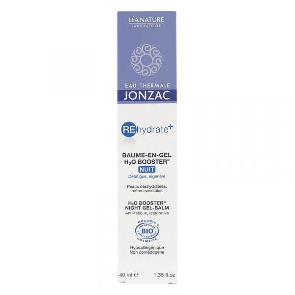 Rehydrate Plus - Balsam-gel de noapte H2O Booster, Jonzac, 40ml 1