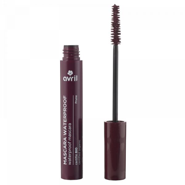 Mascara Waterproof, certificata organic, Prune | Avril 0