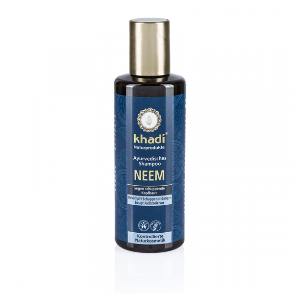 Sampon antimatreata cu neem, Khadi, 210ml 0