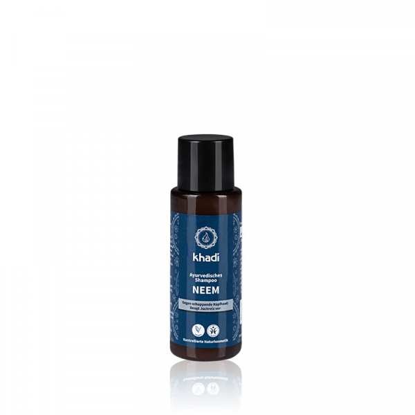 Sampon antimatreata cu neem, Khadi, 30ml 0