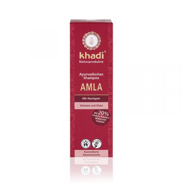 Sampon cu amla pentru volum si stralucire, Khadi 1