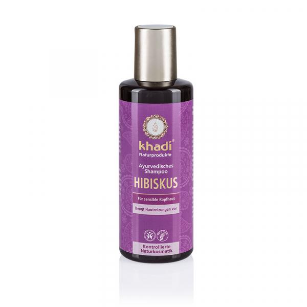 Şampon cu trandafir chinezesc pentru scalp sensibil, Khadi, 210ml 0
