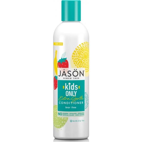 Balsam de par pentru copii, Banane si Capsune, Kids Only Extra Gentle, Jason, 227ml 0