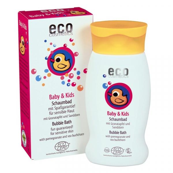 Spumant bio pentru baita cu rodie si catina alba, Eco Cosmetics, 200 ml 0