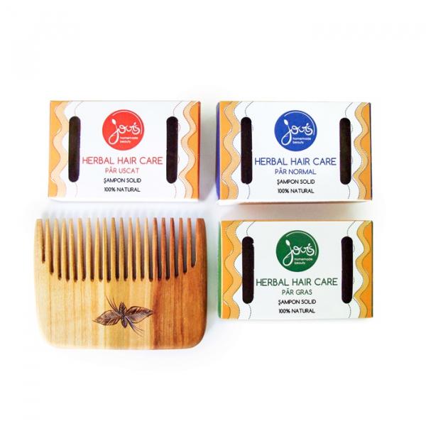 Sampon solid Herbal Hair Care, par gras, Jovis, 100g 1