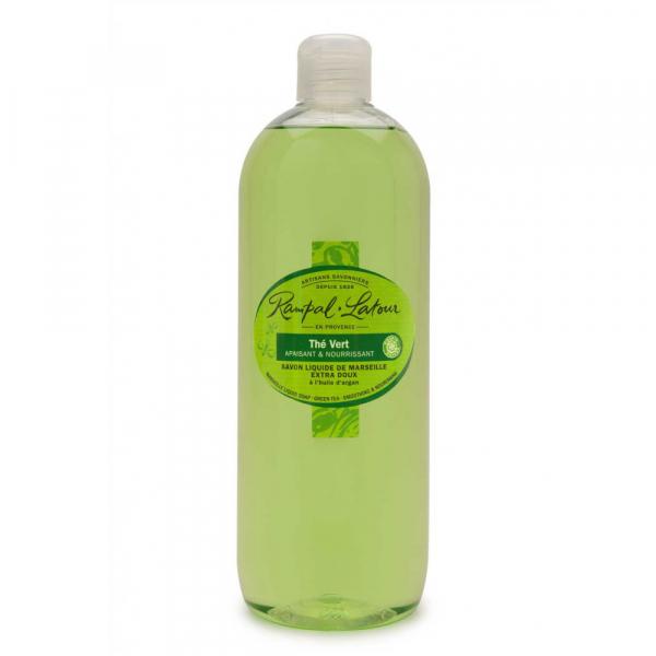 Sapun lichid de Marsilia Ceai Verde | Rampal Latour, 500ml 0