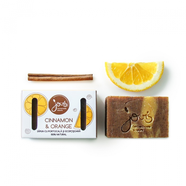 Sapun natural Cinnamon & Orange, Jovis, 100g 0