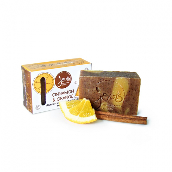 Sapun natural Cinnamon & Orange, Jovis, 100g 1