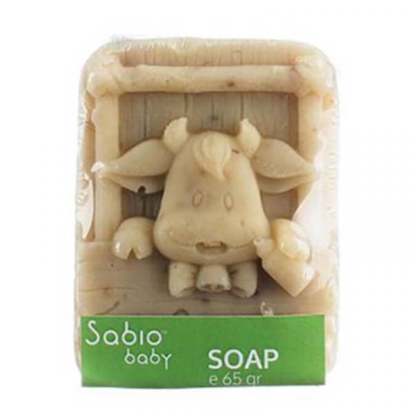 Sapun natural cu ovaz pentru bebelusi, Sabio Baby 4